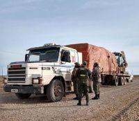 Gendarmería abortó millonario contrabando cerca del Paso Huemules