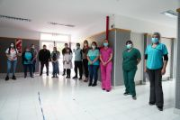 El Hospital de Rada Tilly se reunió con los integrantes de la cooperadora para seguir trabajando a beneficio del nosocomio