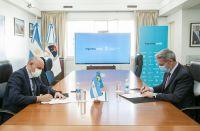 Arcioni firmó un convenio con Nación para las nueva terminal de ómnibus de Comodoro Rivadavia