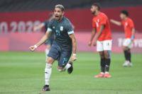 Fútbol: Argentina rompió el maleficio y le ganó a Egipto
