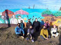 El Proyecto de Arte Público del ISFD 806 retomó su actividad