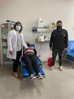 Trabajadores de empresa petrolera efectuaron una importante donación al Hospital Regional