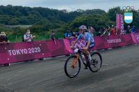 La ciclista chubutense Sofía Gómez Villafañe cerró su participación en Tokio 2020