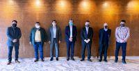 Cerdá y dirigentes gremiales se reunieron con el presidente de YPF