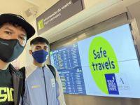 Los chubutenses Eulalio Muñoz y Joaquín Arbe ya están en Tokio