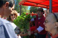 Ritual de agradecimiento a la madre tierra y feria de productores y artesanos