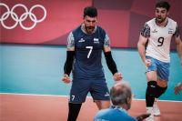 Tremenda victoria de Argentina sobre EEUU para ir a cuartos del voley
