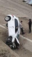 Un auto desbarrancó en el cerro Chenque