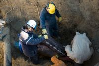 La SCPL instaló válvulas para mejorar la distribución de agua en Comodoro