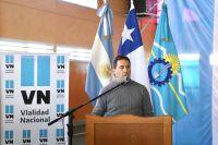 El intendente Luque participó del acto para el inicio de obra