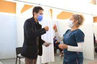 Rada Tilly: Reconocerán a trabajadores de la salud abocados a la contingencia de la pandemia