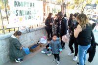 Nueva jornada de adopción de mascotas frente al Liceo Militar