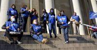 Judiciales reclamaron frente a Tribunales