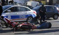 Motociclista con graves lesiones tras chocar contra automóvil