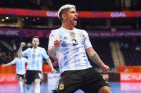 Futsal: Argentina se lo dio vuelta a Paraguay y se metió en cuartos de final del Mundial de Lituania