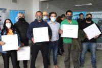 El Municipio entregó certificados y equipamiento a pescadores artesanales