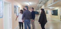 Funcionarios del Ministerio de Infraestructura recorrieron edificios escolares en Comodoro Rivadavia