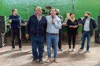 Luque participó del Día de la Madre en el Máximo Abásolo y anunció obras de gas