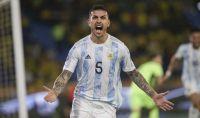 Alarma en la Selección Argentina: se lesionó Paredes y no estaría en la próxima fecha de Eliminatorias