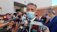 Arcioni encabezó la entrega de un nuevo tomógrafo para el Hospital Alvear