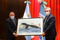 En Puerto Madryn, el Presidente se reunió con representantes del sector turístico y con empresarios de Aluar
