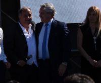 """Alberto Fernández: """"Les pido que en noviembre acompañen y voten a Carlos Linares y Florencia Papaiani"""""""