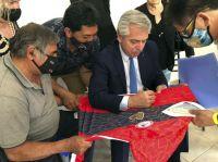 El Presidente visitó el club USMA
