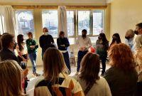 Torres y Romero junto a diputados nacionales de Juntos por el Cambio reclamaron por la educación en Chubut