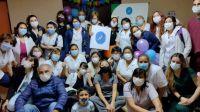 Más de 500 chicos se vacunaron en la UNPSJB