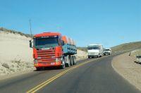 Corte total del tránsito en rutas por el temporal de viento