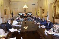 Alberto Fernández se reunió con gobernadores para garantizar el cumplimiento del acuerdo de precios