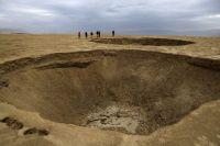 El mar Muerto se encoge y deja al descubierto miles de misteriosos cráteres