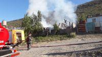Dos incendios dejaron perdidas totales en viviendas