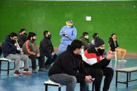Se vacunó a más del 50% de los mayores de 18 años de Chubut