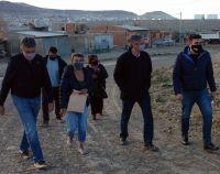 Ongarato y Menna recorrieron algunos barrios de Comodoro